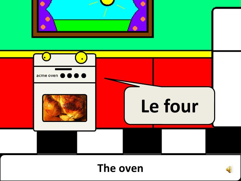 The freezer Le congélateur