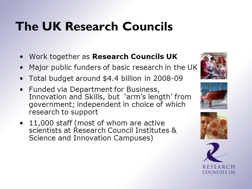 What do the Research Councils do.