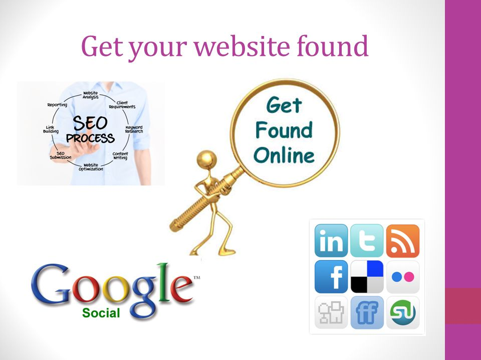 Get your website found