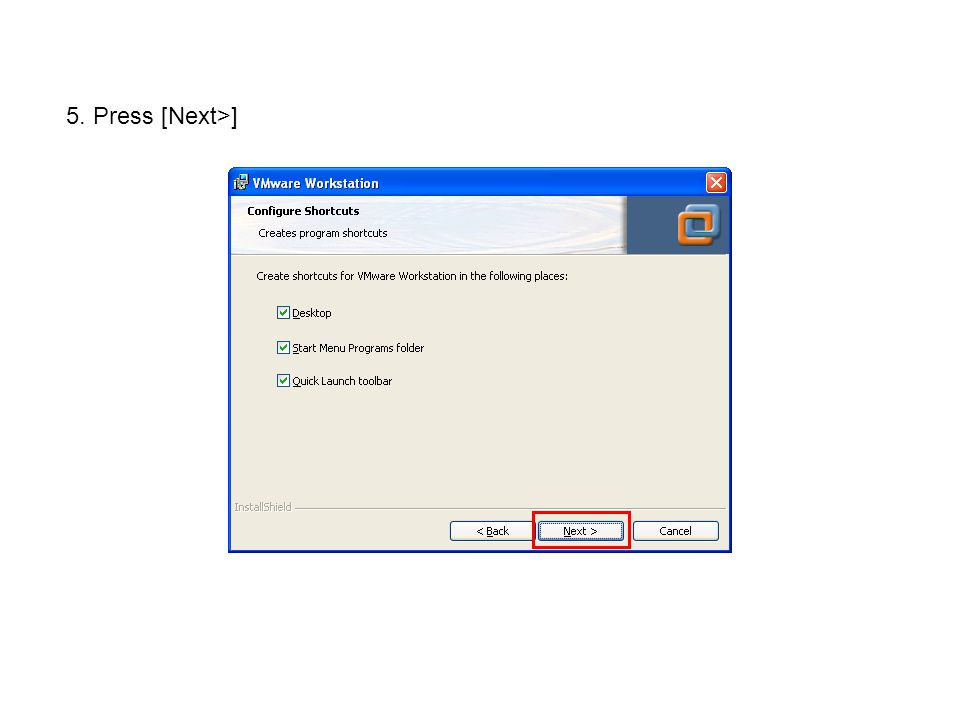 9. Copy to your C:\demos