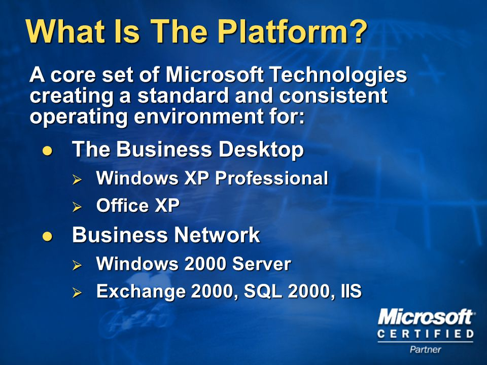 What Is The Platform.