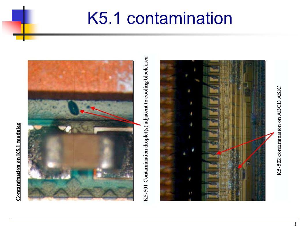 1 K5.1 contamination