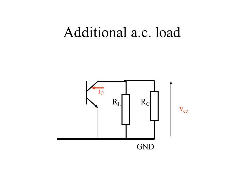 RCRC GND RLRL iCiC Additional a.c. load v ce