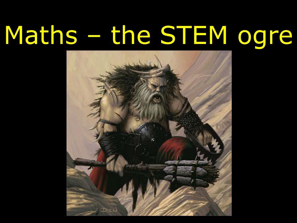 Maths – the STEM ogre
