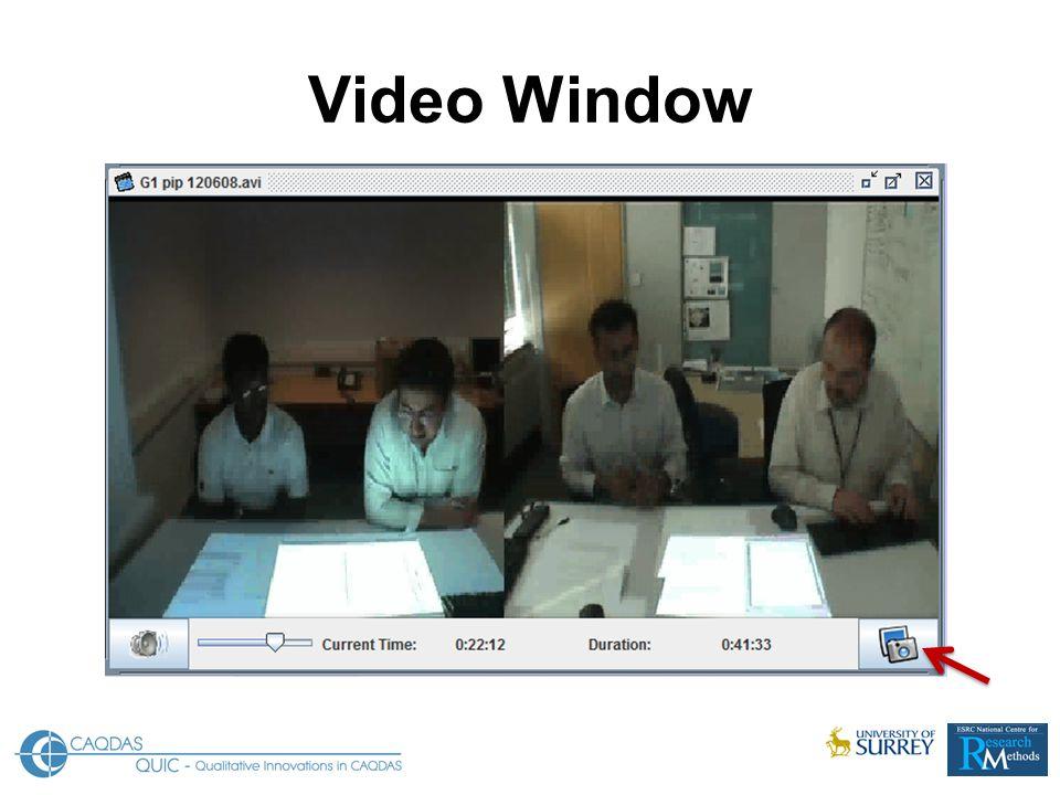 Video Window