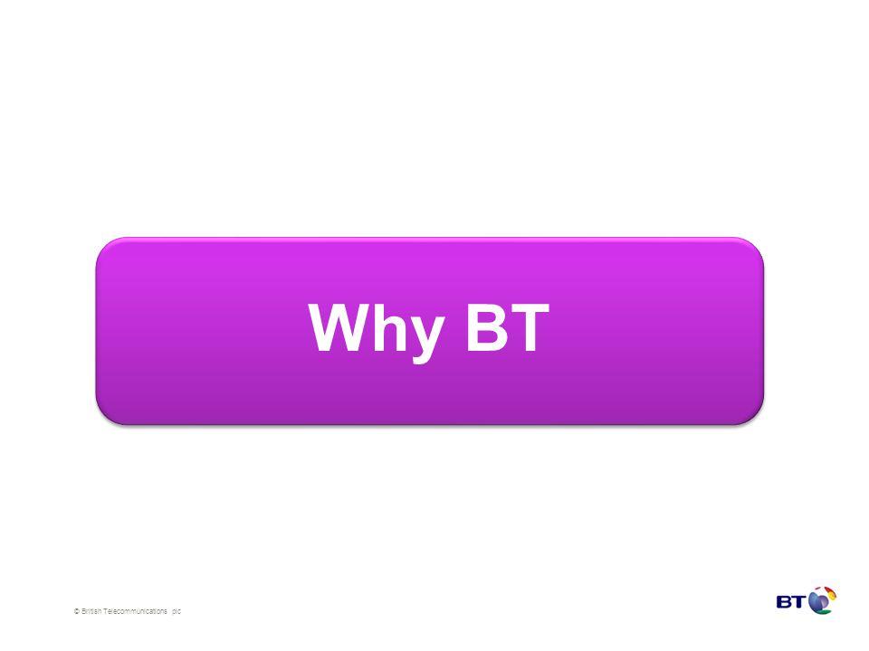 © British Telecommunications plc Why BT