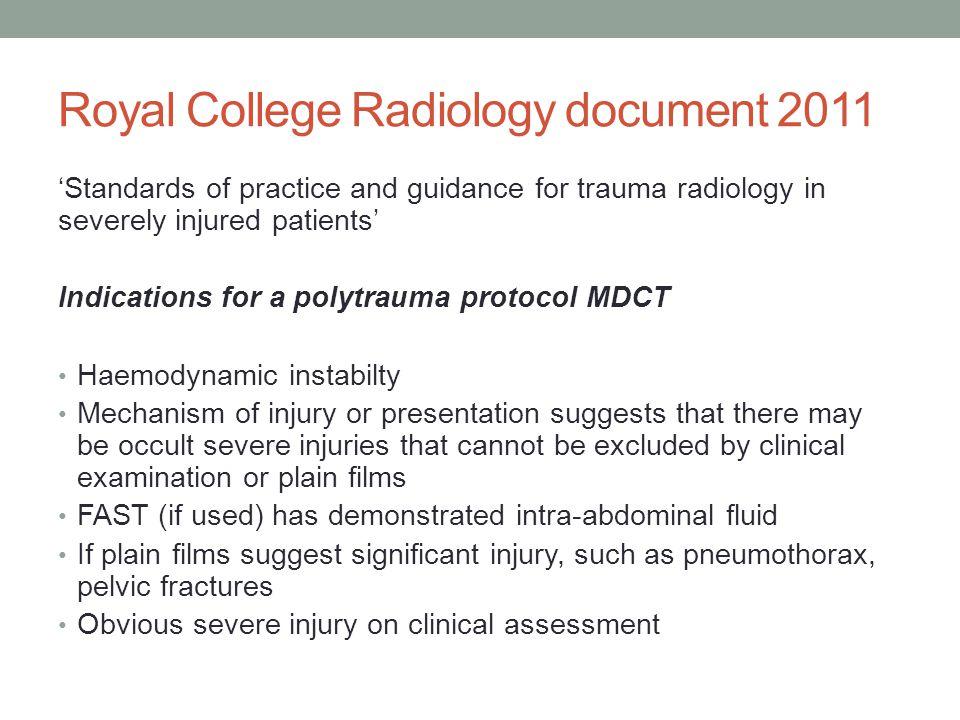 References https://www.rcr.ac.uk/docs/radiology/pdf/BFCR(11)3_trau ma.pdf https://www.rcr.ac.uk/docs/radiology/pdf/BFCR(11)3_trau ma.pdf Ann Emerg Med.