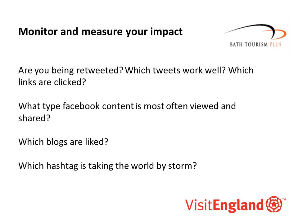 McAllister and Co Monitor and measure your impact Are you being retweeted.
