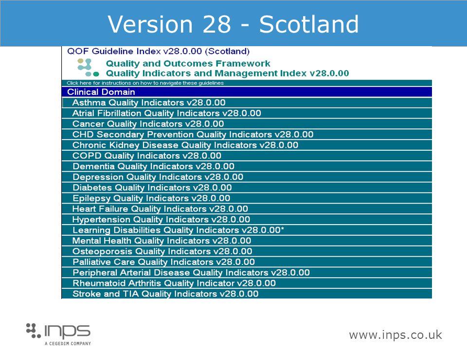 www.inps.co.uk Version 28 - Scotland