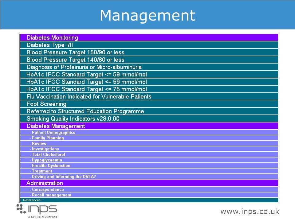 www.inps.co.uk Management