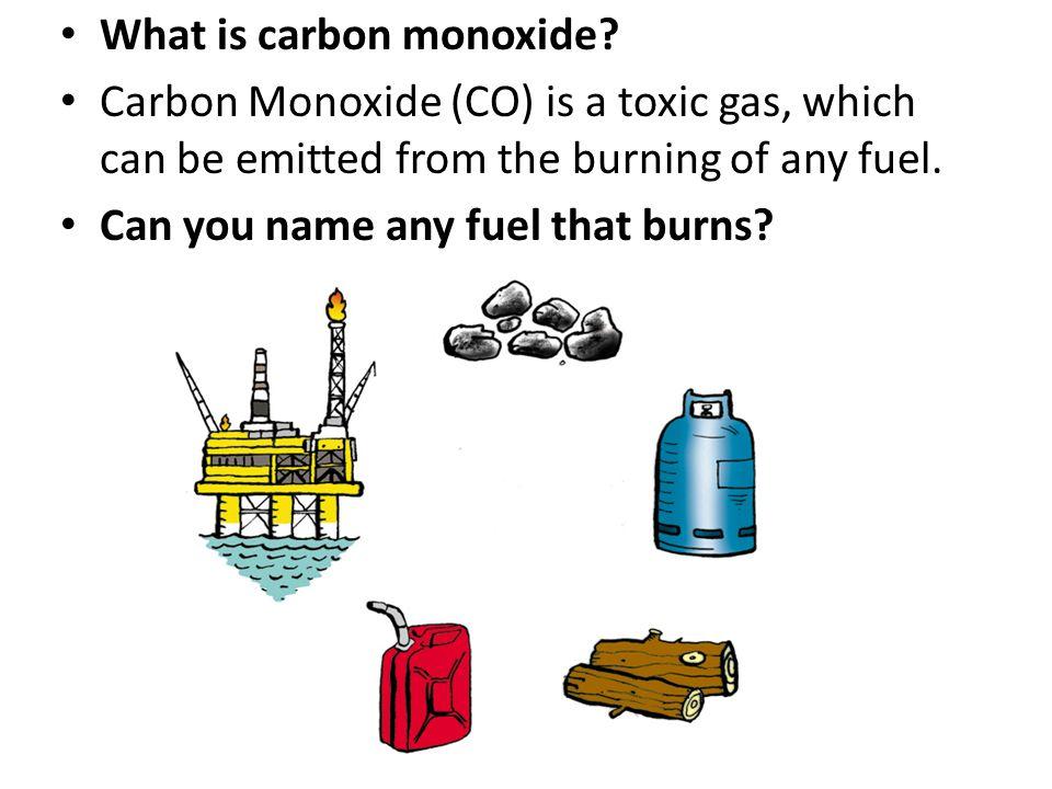 What is carbon monoxide.