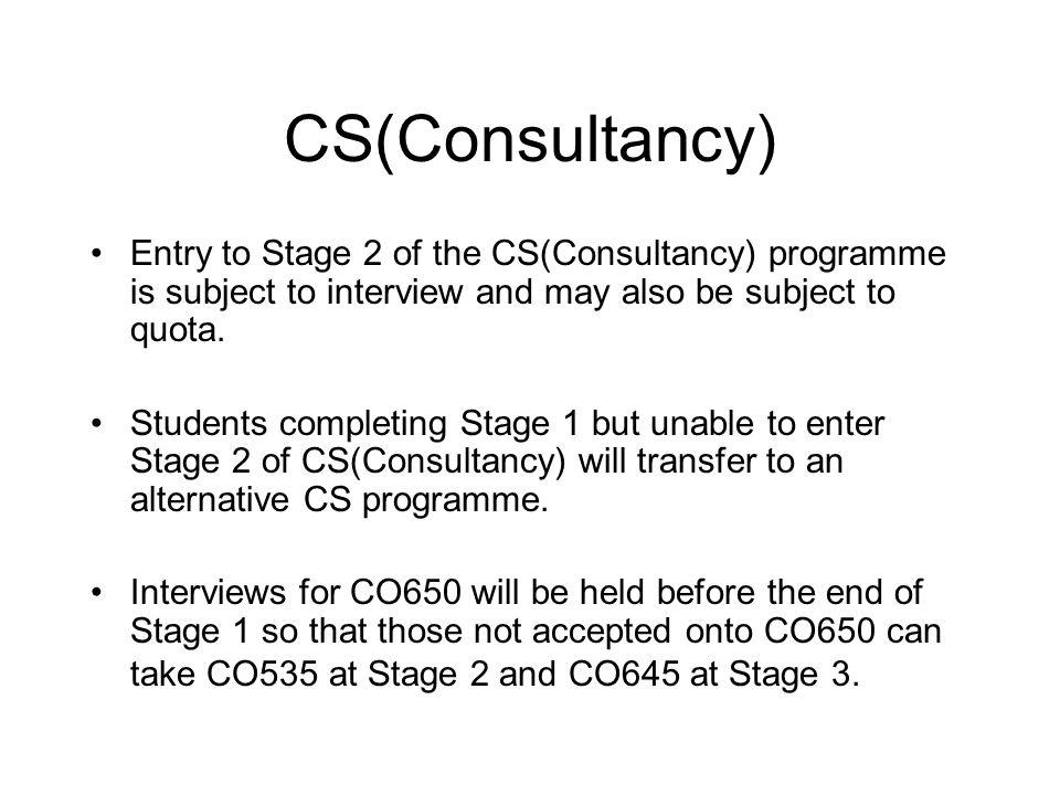 CO528 Introduction to Intelligent Systems  CS  CS(AI)  CS(Con)  CS(Bus)  CSMS  CoBA Spring