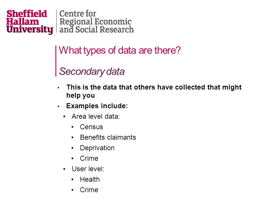 What types of data should you collect.