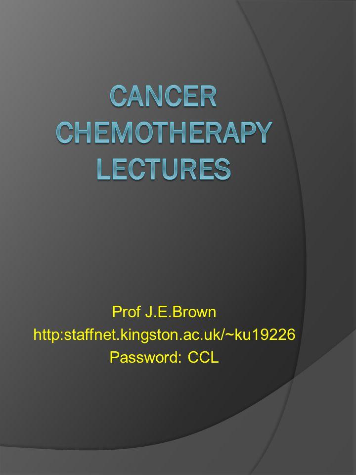 Prof J.E.Brown http:staffnet.kingston.ac.uk/~ku19226 Password: CCL