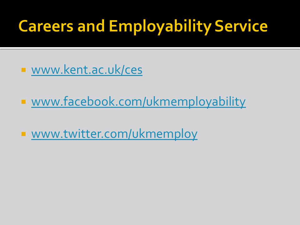  Personal details  Personal profile (optional)  Education from GCSE level –institutions, qualifications & dates (most recent first)  Relevant work experience  Work history  Other information  References