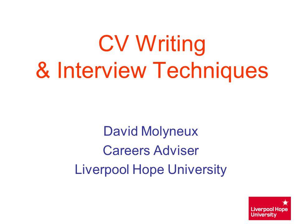 Cv writing service exeter