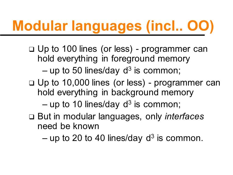 Modular languages (incl..