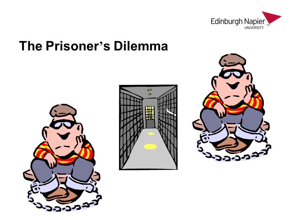 The Prisoner ' s Dilemma