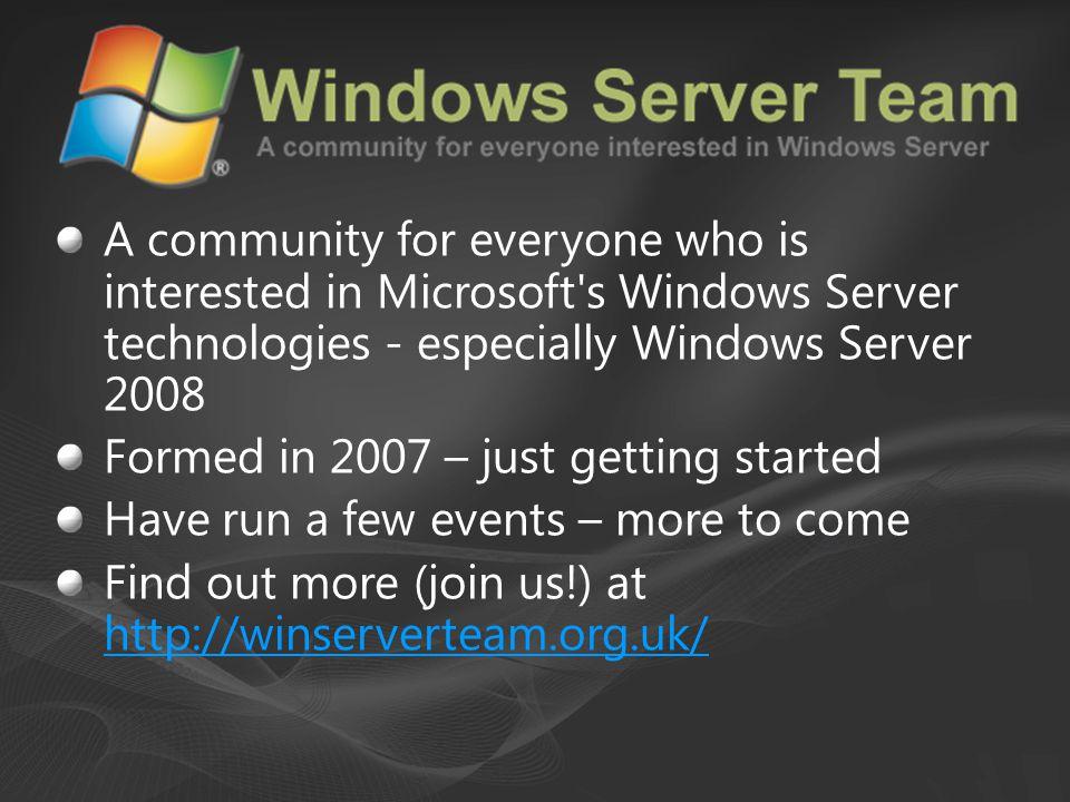 Microsoft's virtualisation platform {for the Enterprise}