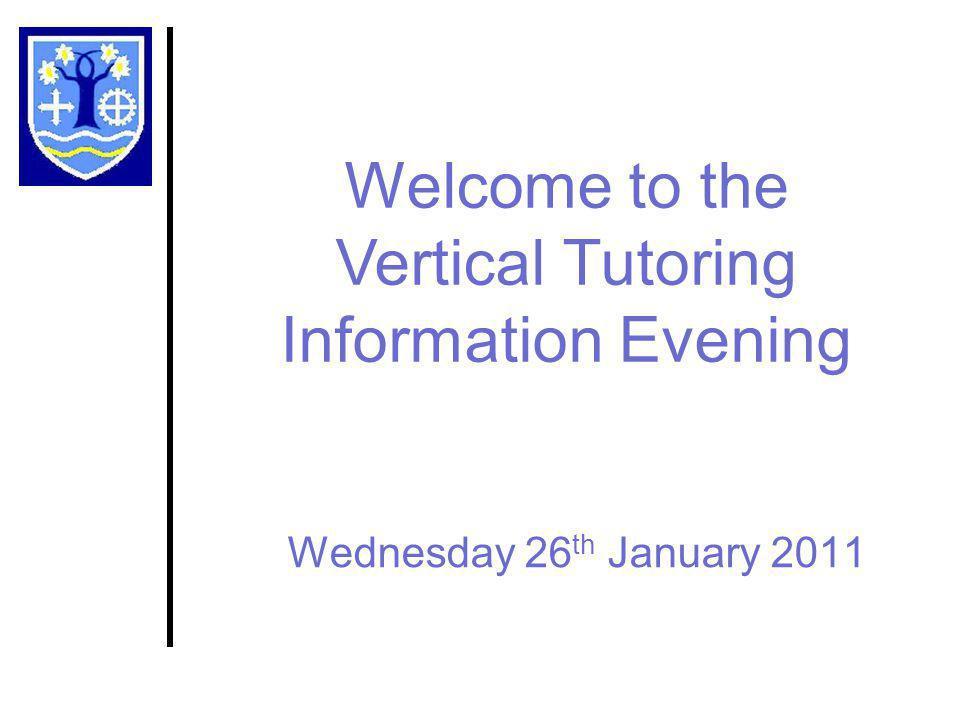 Vertical Tutoring at PHS What is Vertical Tutoring.