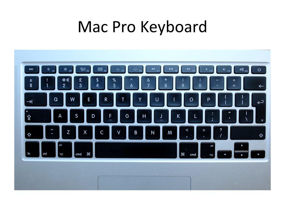 Mac Pro Keyboard