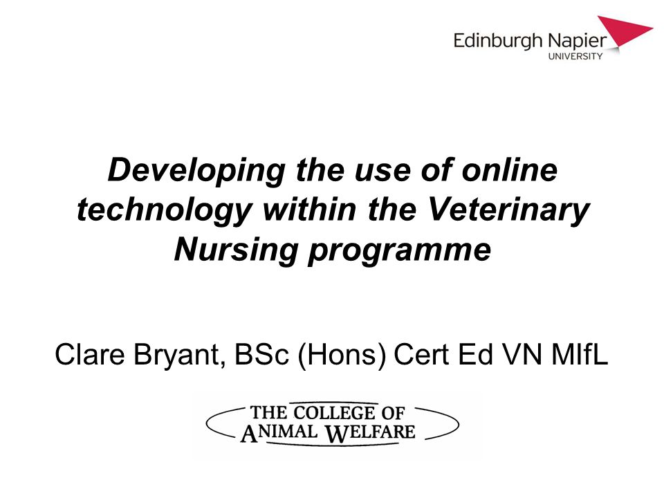 Wiki Vet This is a collaborative wiki – veterinary schools across the UK; higher education academy and JISC funding It is put together by veterinary academics and students The main difference to Wikipedia is that that it is peer-reviewed by subject specialists and will tell you on the page if that has been carried out