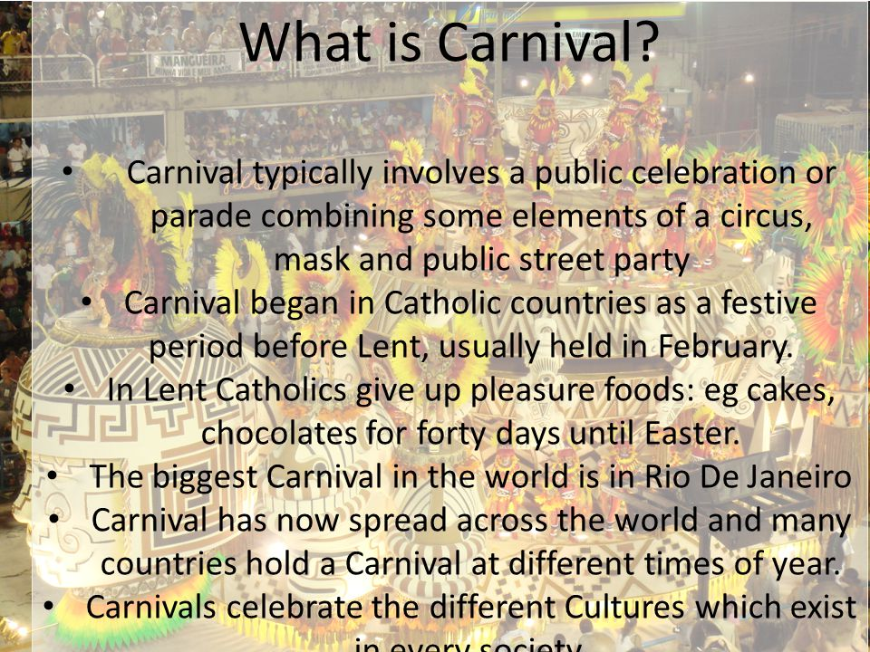 What is Carnival.