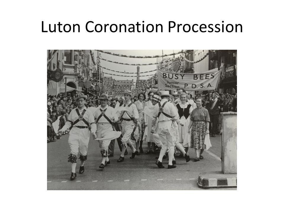Luton Coronation Procession