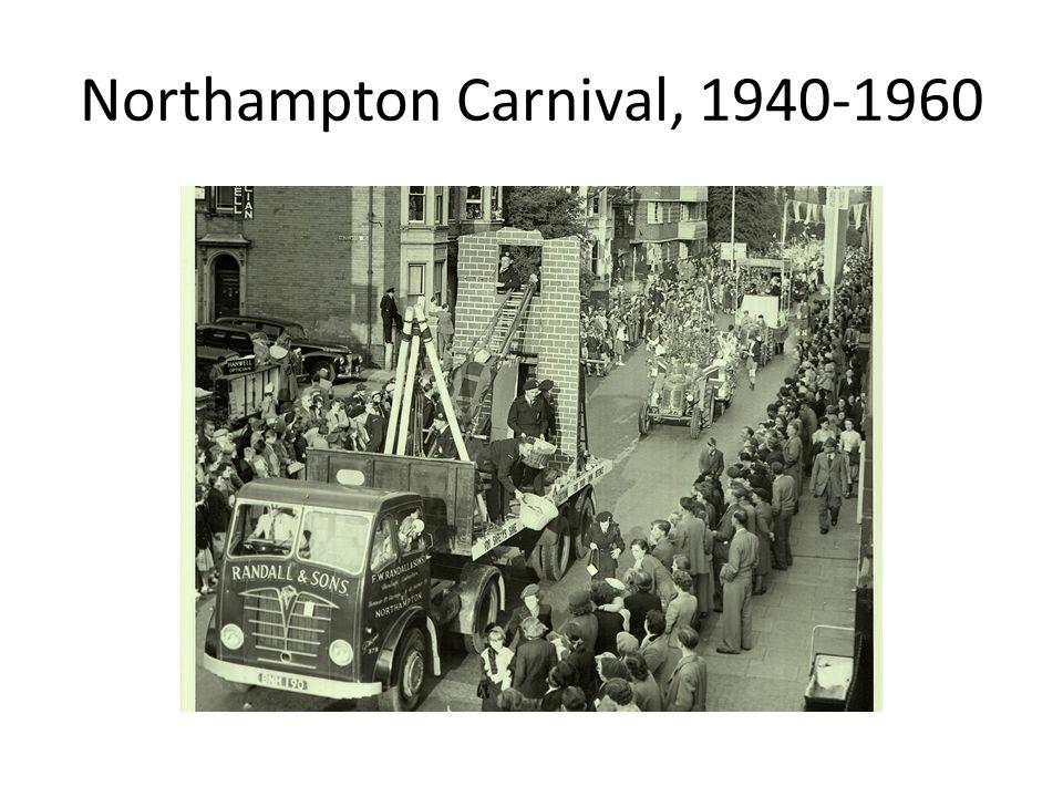 Northampton Carnival, 1940-1960