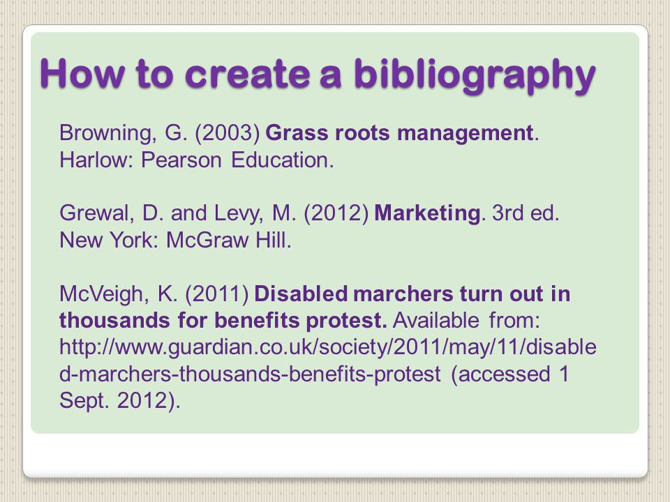 Browning, G. (2003) Grass roots management. Harlow: Pearson Education.