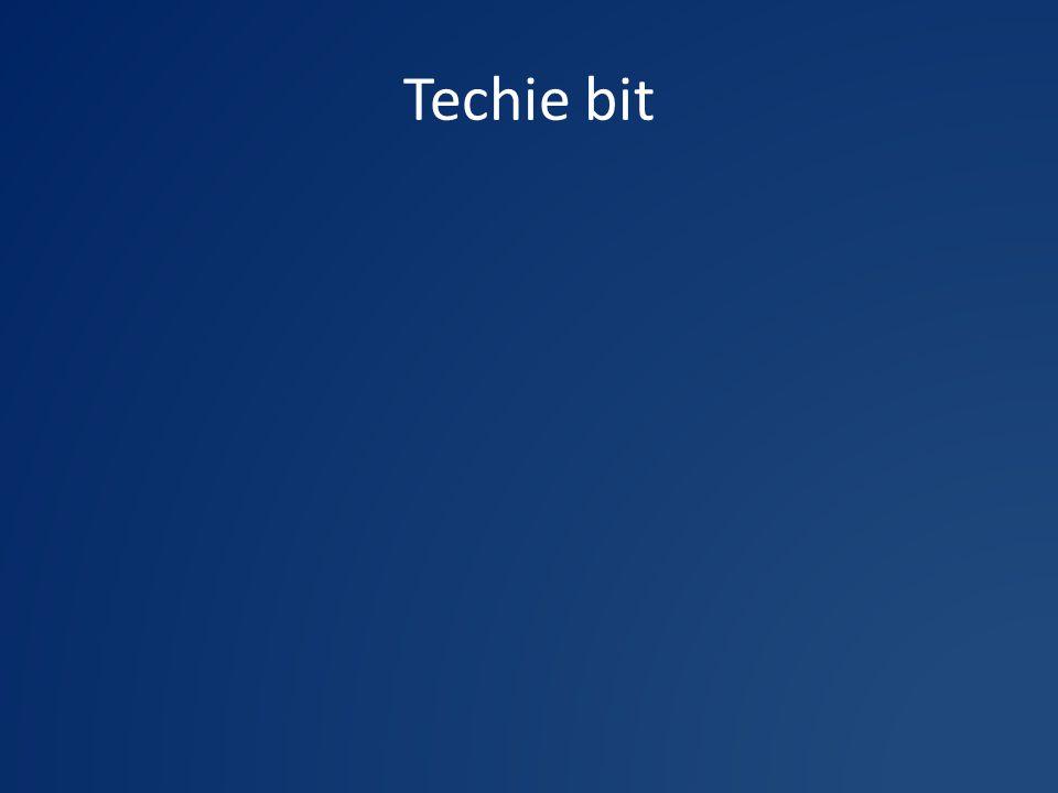 Techie bit