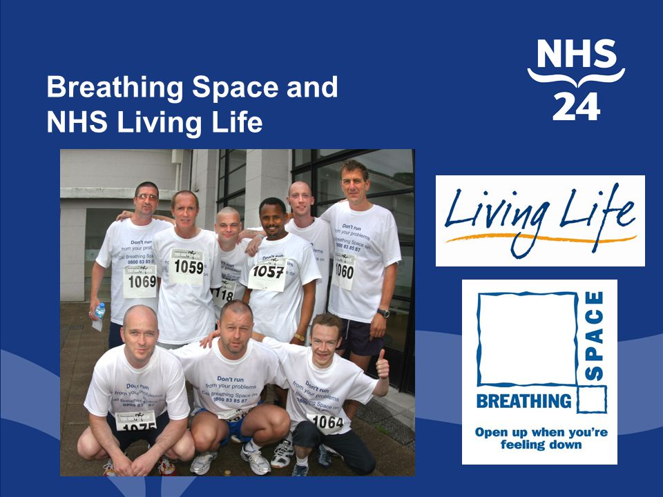 Breathing Space and NHS Living Life