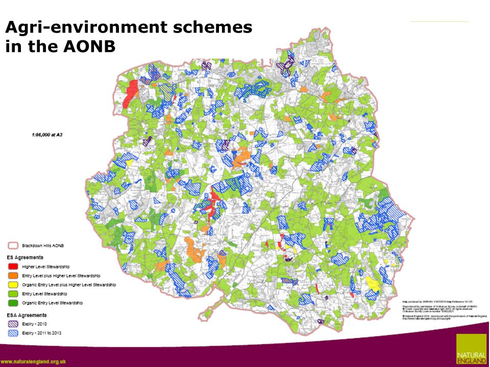 Agri-environment schemes in the AONB