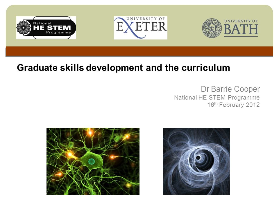 to map opportunities for students and employers to shape the curriculum; to review the provision of graduate skills development in the curriculum; to identify areas for improving current practice and consider models for achieving this.