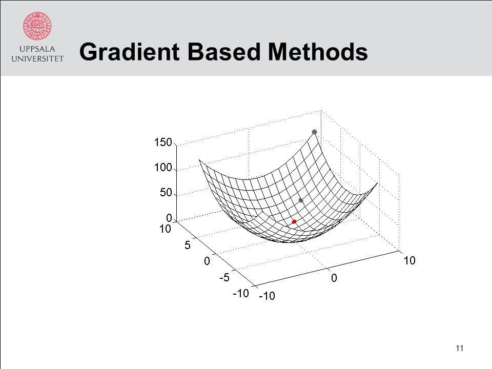 Gradient Based Methods 11