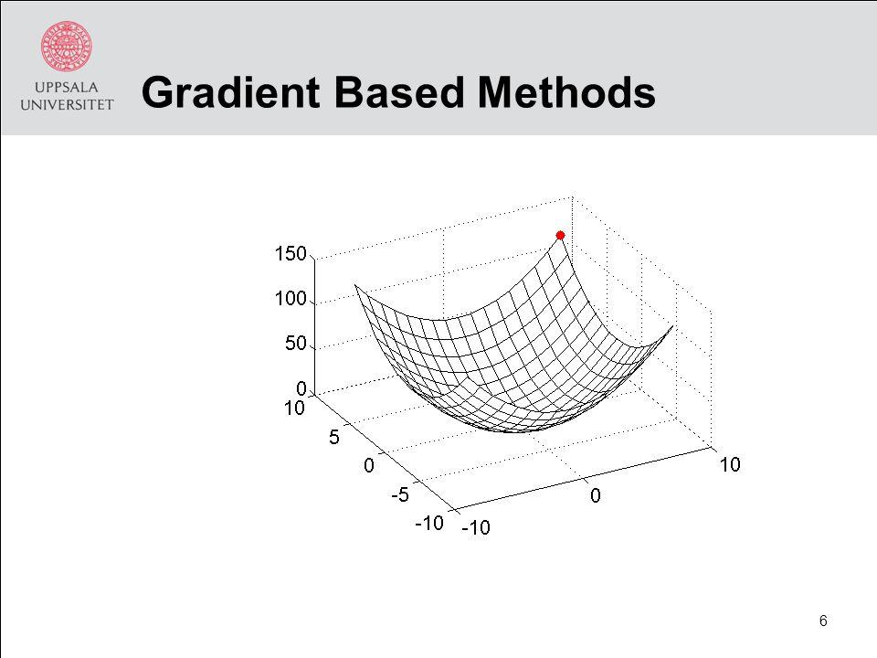 Gradient Based Methods 6