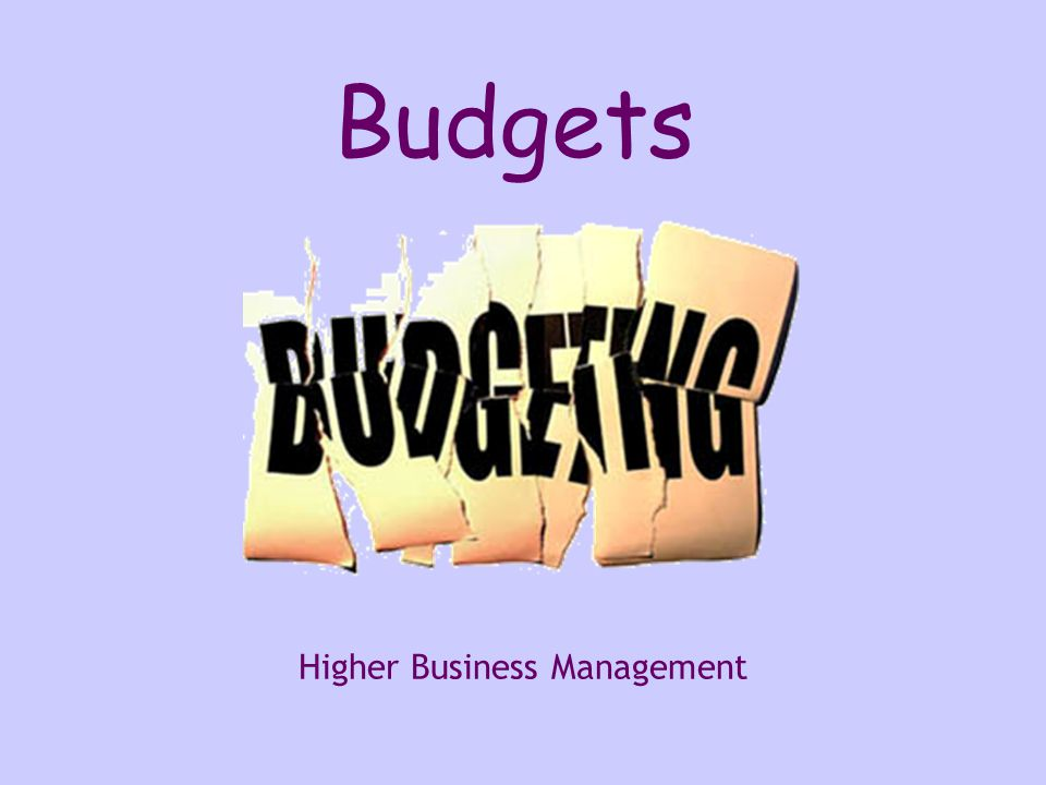 Questions 3.Describe how an organisation could make use of: - a production budget - a sales budget (2007, Case Study, Q5b) (4 marks) 4.Outline the benefits to management of using cash budgets.