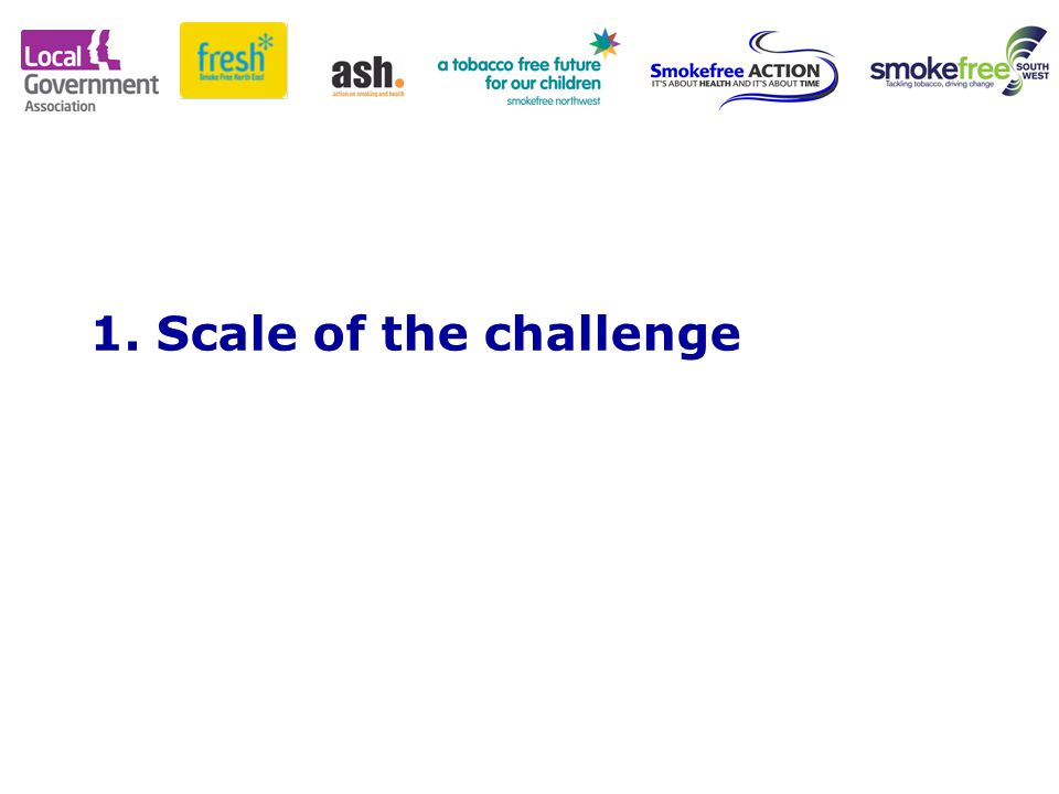 1. Scale of the challenge