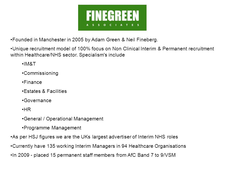 Founded in Manchester in 2005 by Adam Green & Neil Fineberg.