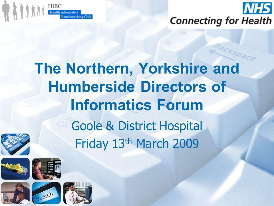 Benchmarking and Accreditation in Health Informatics John Rayner – Chairman, HIBC Mike Sinclair – National Project Manager