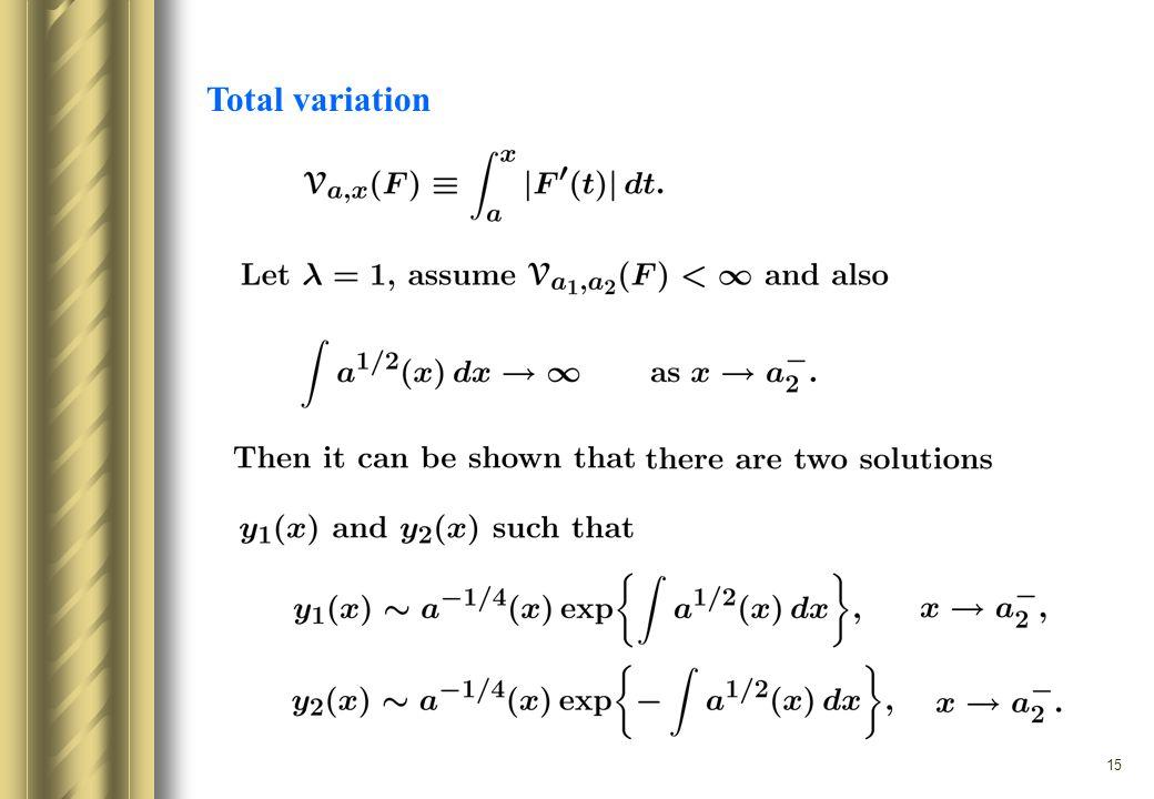 15 Total variation