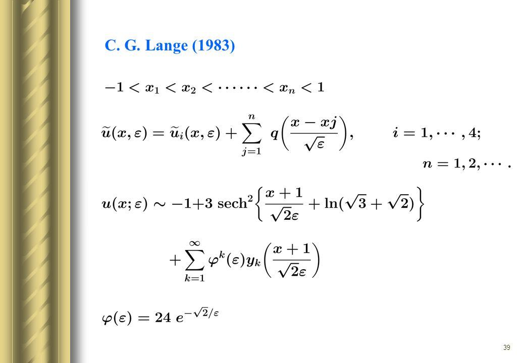 39 C. G. Lange (1983)