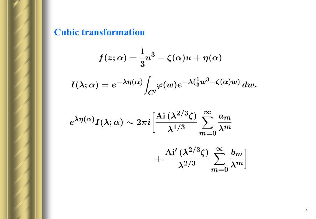 7 Cubic transformation
