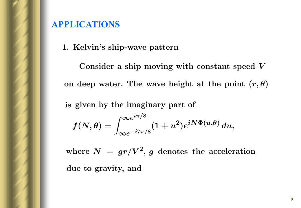 9 F. Ursell, On Kelvin s ship-wave pattern, J. Fluid Mech., 1960