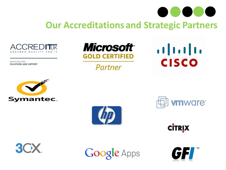 Our Accreditations and Strategic Partners