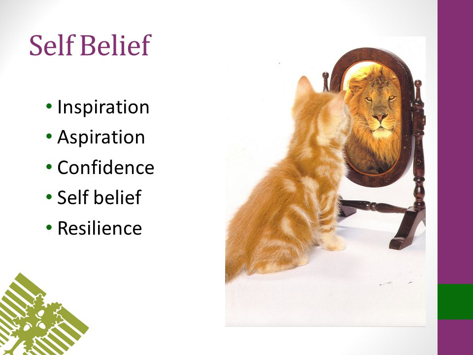 Self Belief Inspiration Aspiration Confidence Self belief Resilience