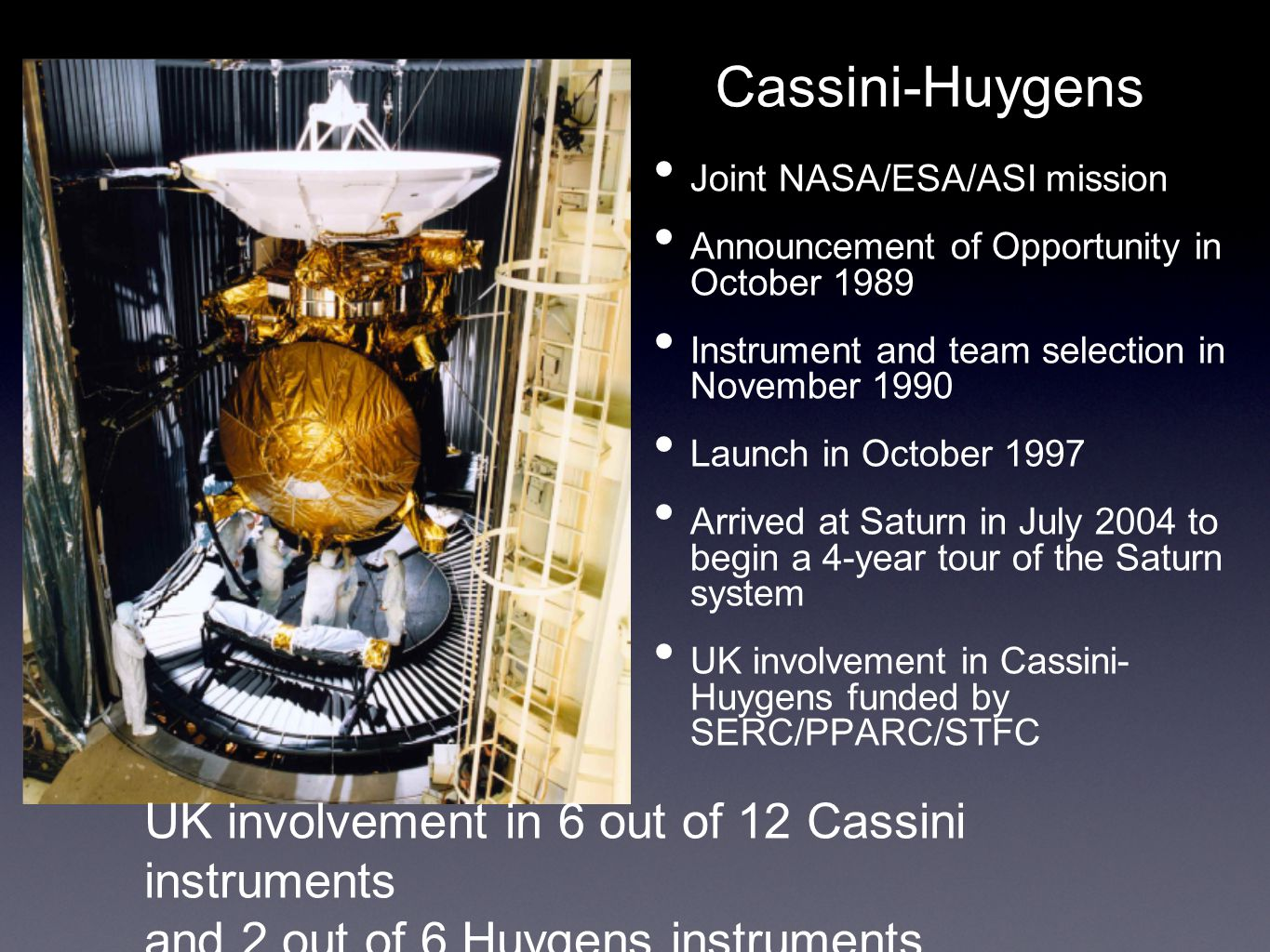 Cassini - The Journey to Saturn