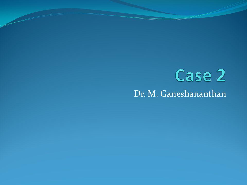 Dr. M. Ganeshananthan