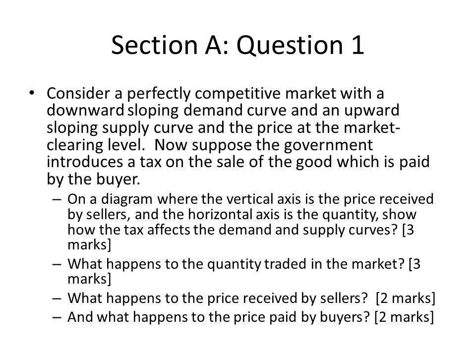 Section B : Question 12 (a) Define the marginal and average tax rate [4 marks] Intuition (not definition): – Average tax rate is the tax rate you pay (on average) across all your earnings…lost benefits included in this tax rate.