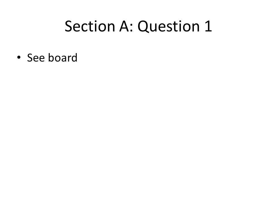 Section B : Question 11 Suppose that there is a monopoly supplier of electricity.